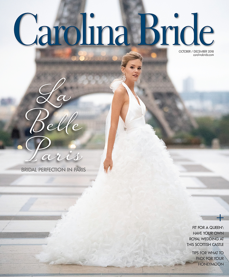 Carolina bride cover critsey Rowe Paris
