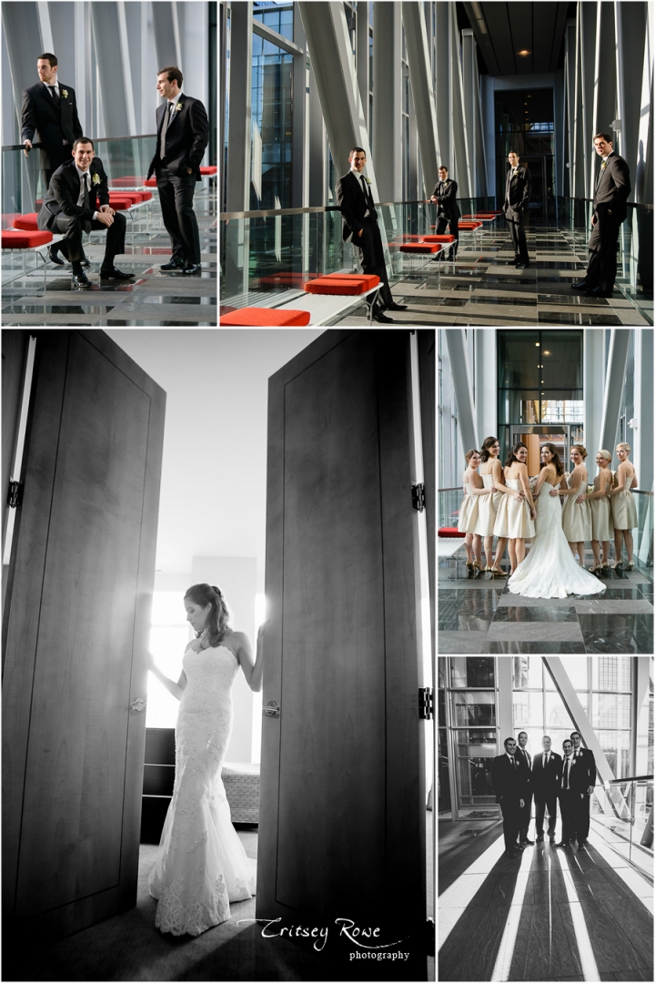 Temple Isreal and Ritz Carlton Wedding