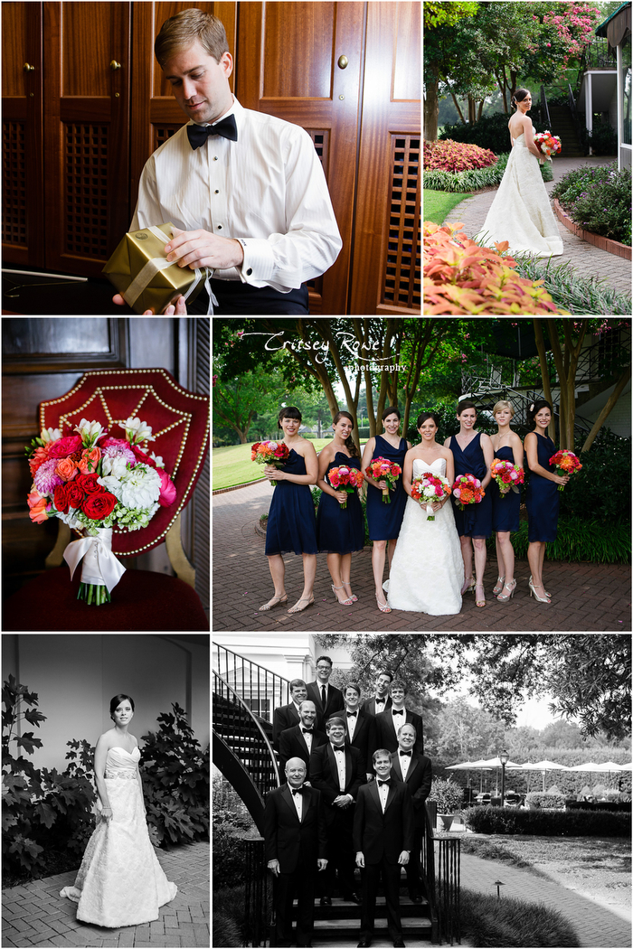 Charlotte Country Club Wedding and Reception Critsey Rowe